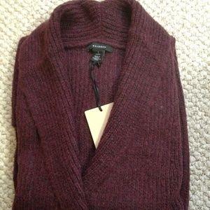 HALOGEN - Textured Open-Front Cardigan - NWT